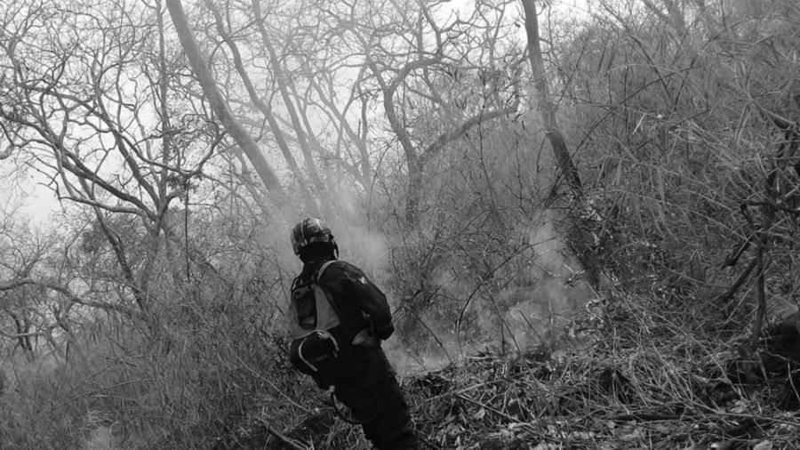 Bolivia Chiquitania incendios bombaeros la-tinta