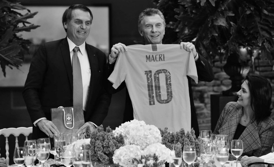 Brasil Bolsonaro Macri selecciones de futbol la-tinta