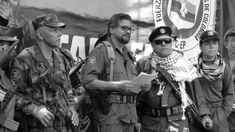 Colombia FARC anuncio la-tinta