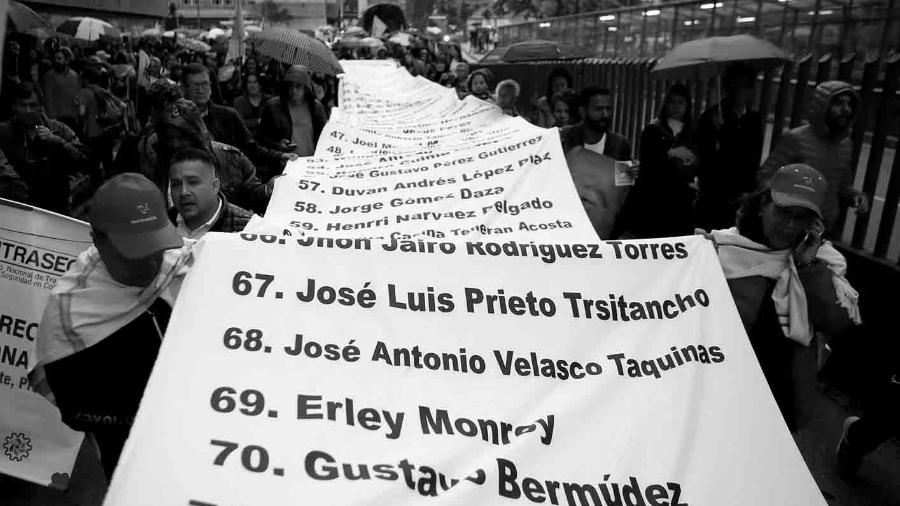 Colombia marcha lideres sociales asesinados la-tinta