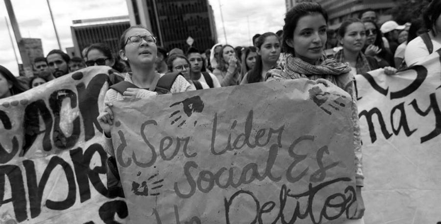 Colombia ser lider social no es delito la-tinta