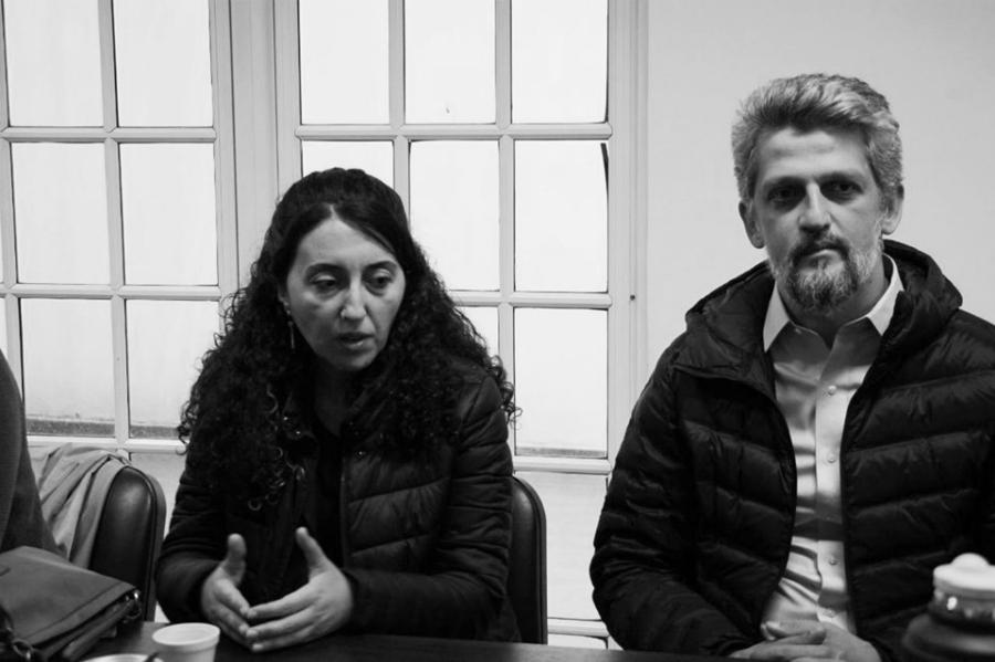 Ebru Günay Garo Paylan diputados HDP Argentina la-tinta