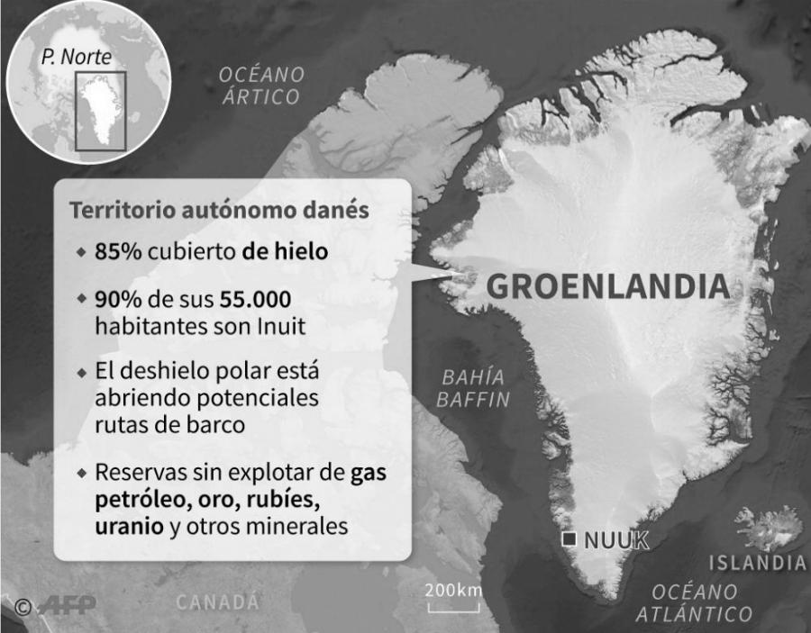 Groenlandia mapa recursos la-tinta