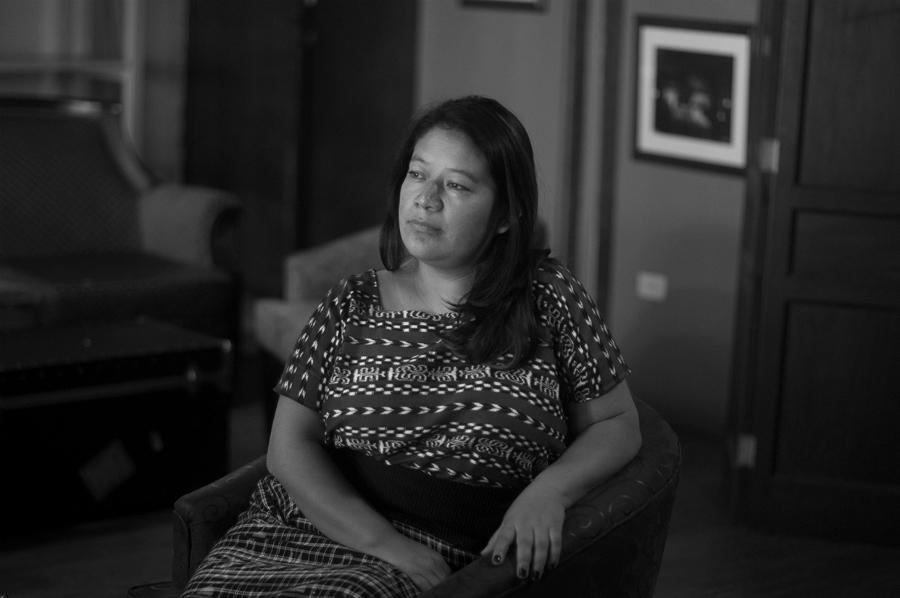Guatemala Gladys Tzul la-tinta