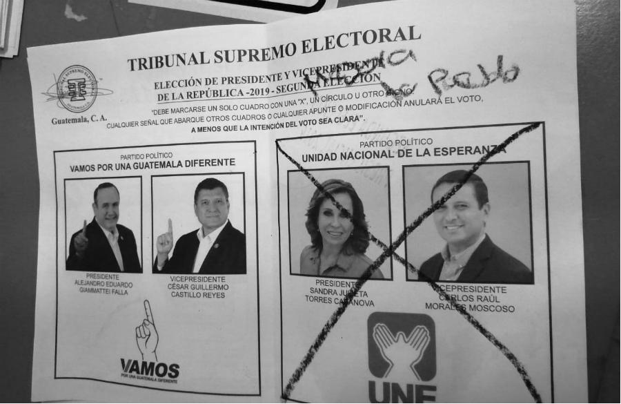 Guatemala actas elecciones 2019 la-tinta