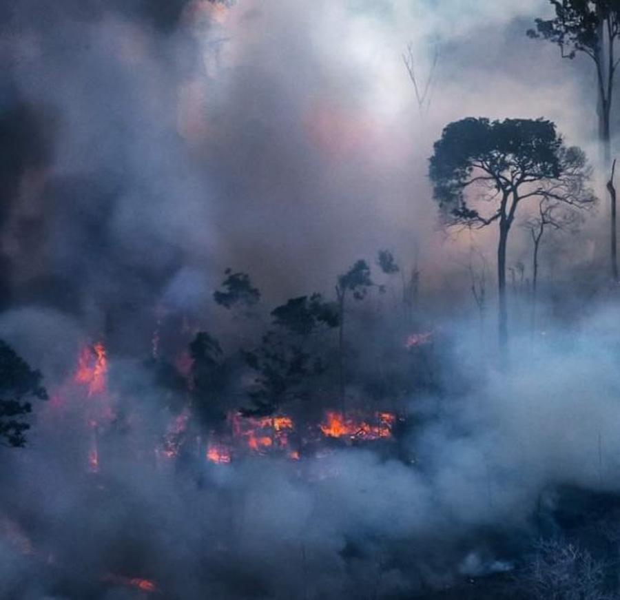 Impactante registro fotográfico de la selva amazónica en llamas_Araquém Alcântara_02
