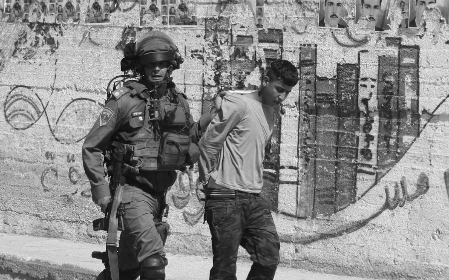 Israel soldados detiene a menor de edad la-tinta