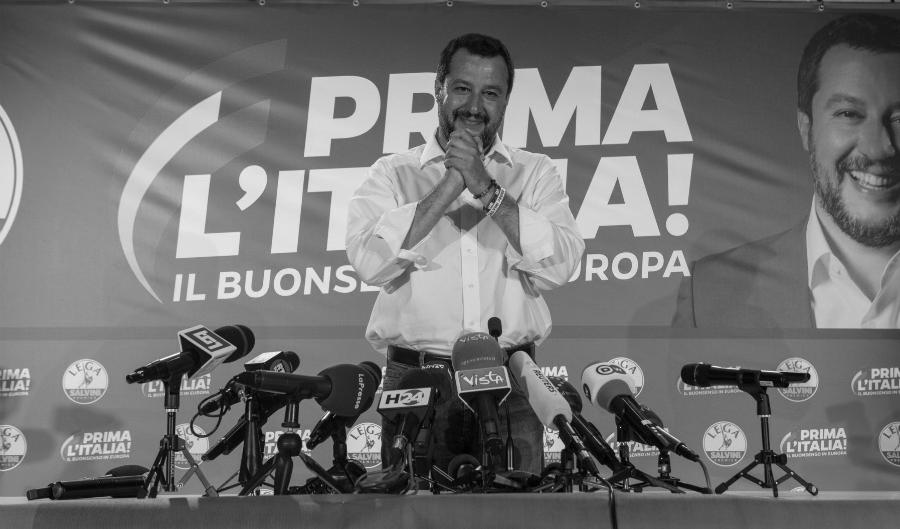 Italia Salvini campaña electoral la-tinta