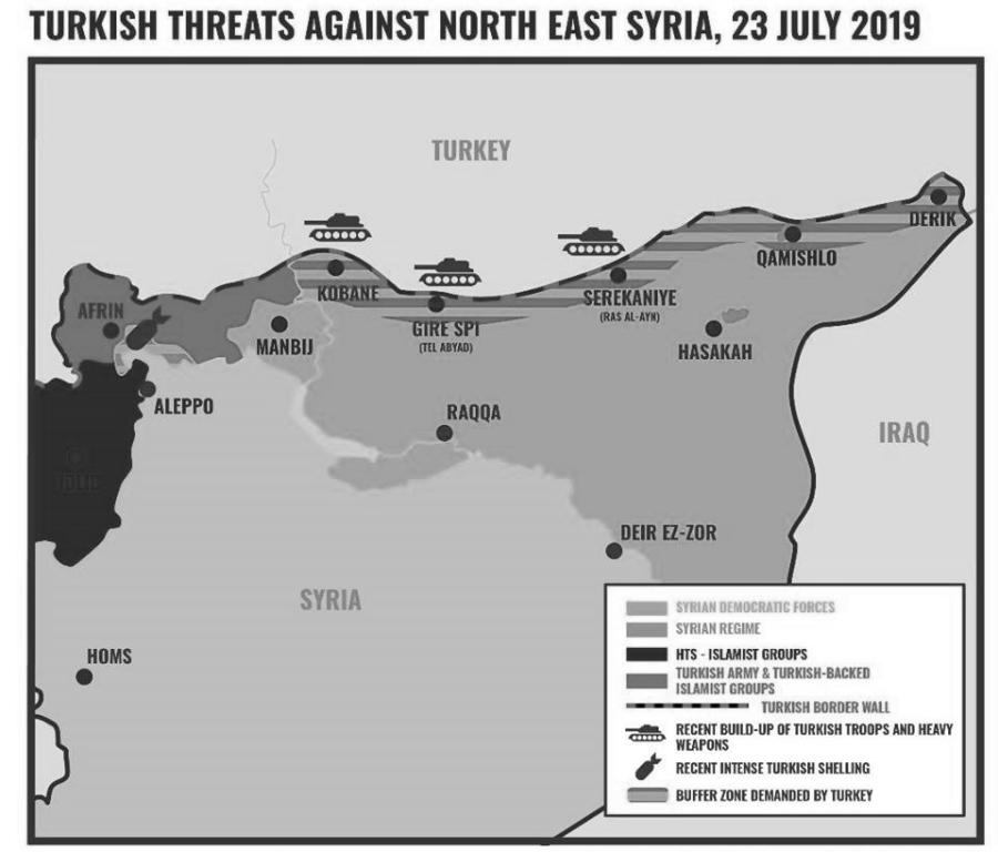 Kurdistan sirio frontera presencia militar turca la-tinta