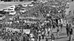 Brasil: marcha de las mujeres indígenas y campesinas