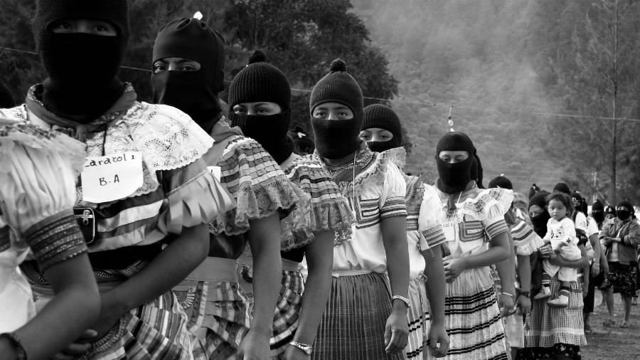 Mexico mujeres zapatistas EZLN la-tinta