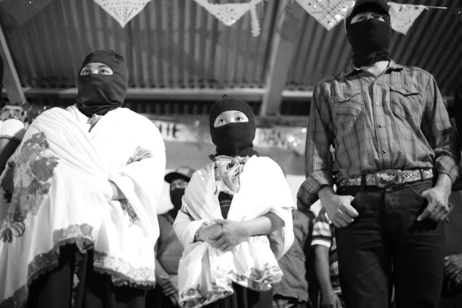 Mexico zapatismo pobladores la-tinta