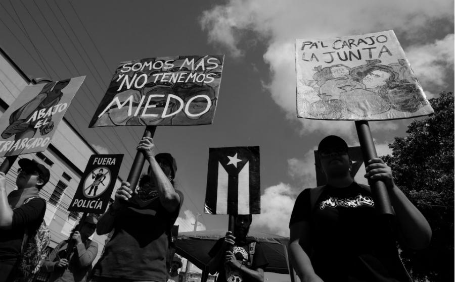 Puerto Rico No tenemos miedo la-tinta