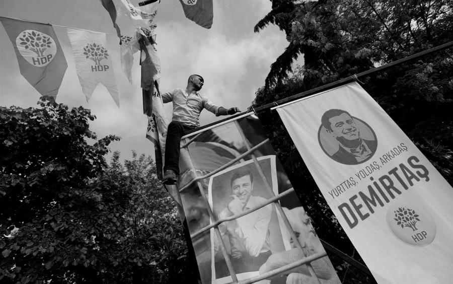 Turquia HDP manifestacion la-tinta
