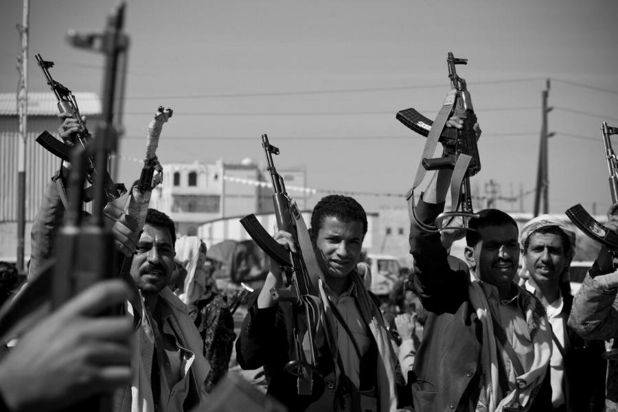 Yemen milicia huti la-tinta