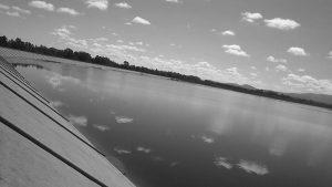 El club náutico que hace agua en Cruz del Eje