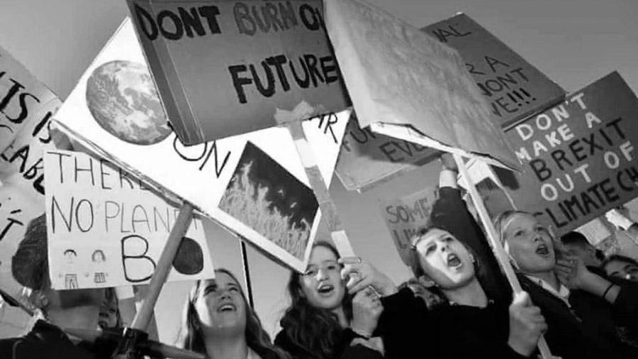 greta cambio climatico jovenes niñxs huelga