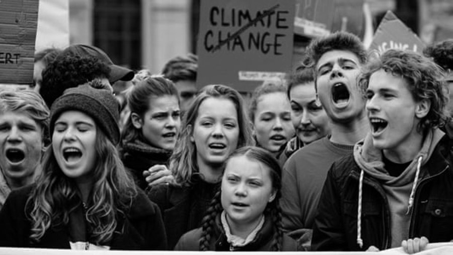 greta-thunberg cambio climatico huelga