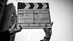 Marcha contra la criminalización de la protesta:luchar por la educación no es delito