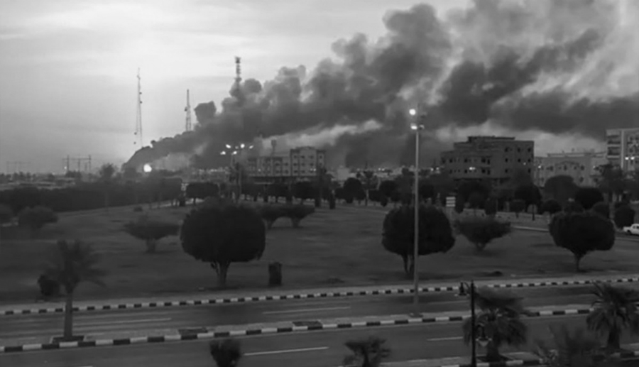 Arabia Saudita ataque refinerias la-tinta