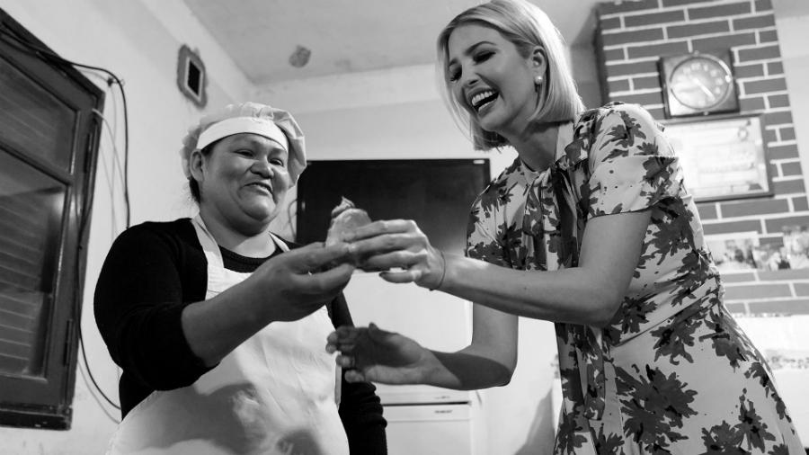 Argentina gira Ivanka Trump la-tinta