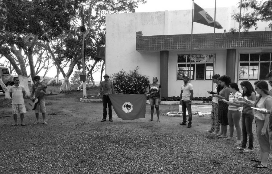 Brasil Centro de Formacion MST estudiantes la-tinta