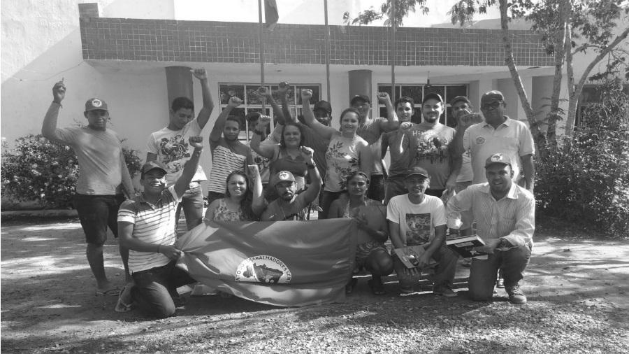 Brasil integrantes centro de formacion MST la-tinta