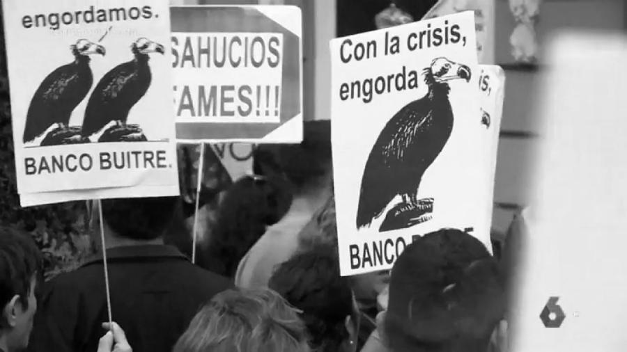 España protesta contra fondos buitres la-tinta