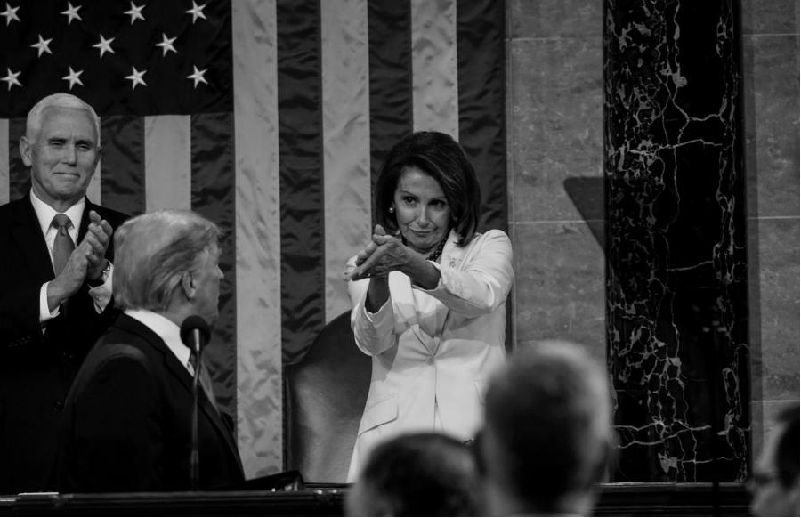 Estados Unidos congresista Nancy Pelosi la-tinta
