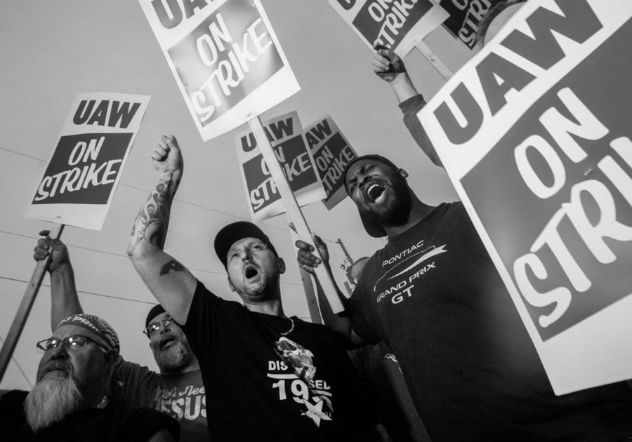 Estados Unidos huelga General Motors la-tinta