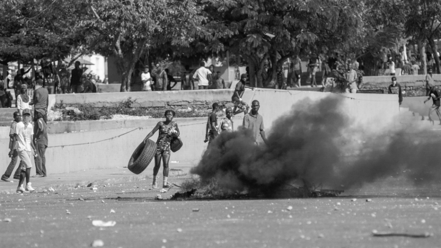 Haiti movilizaciones y barricadas la-tinta