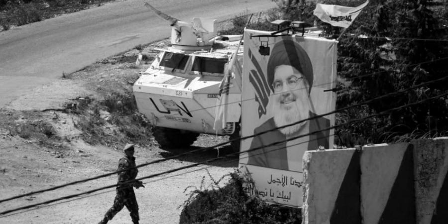Libano fuerzas de la ONU la-tinta