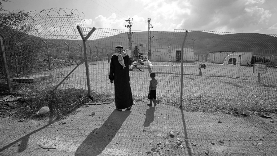 Palestina Valle del Jordan pobladores la-tinta