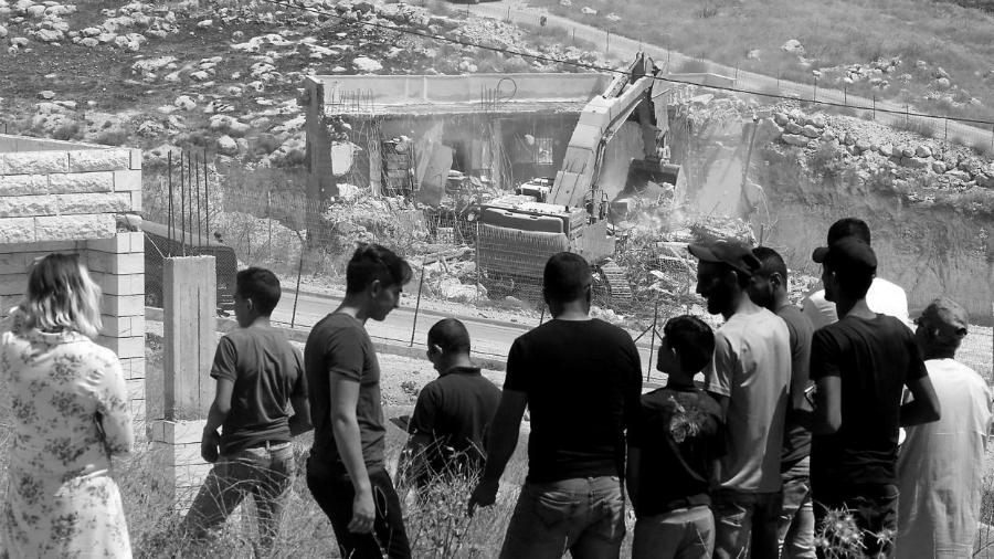 Palestina Wadi Hummus demoliciones la-tinta