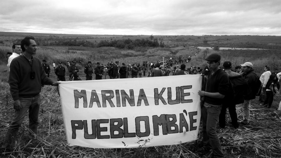 Paraguay Comunidad Marina Kue la-tinta