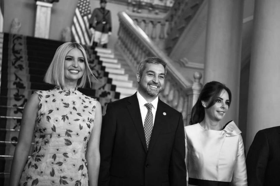 Paraguay Ivanka Trump presidente Abdo la-tinta