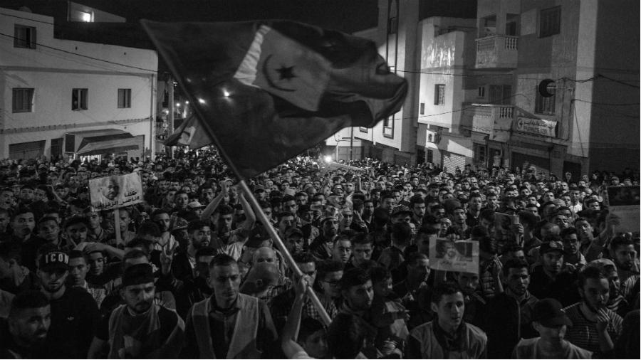 Rif Marruecos manifestaciones laa-tinta
