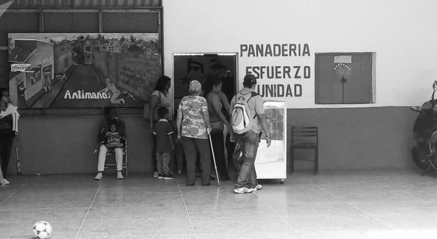 Venezuela Caracas Comuna Victoria Socialista pueblo la-tinta