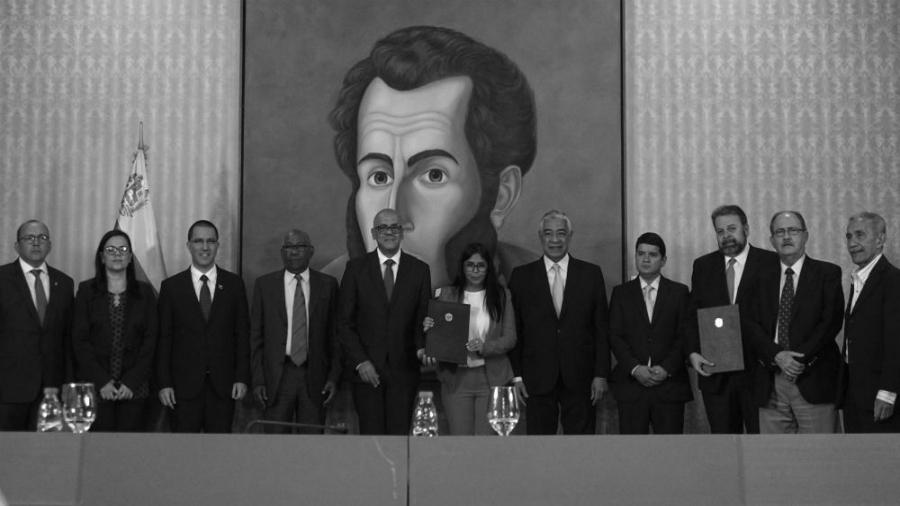 Venezuela acuerdo con oposicion la-tinta
