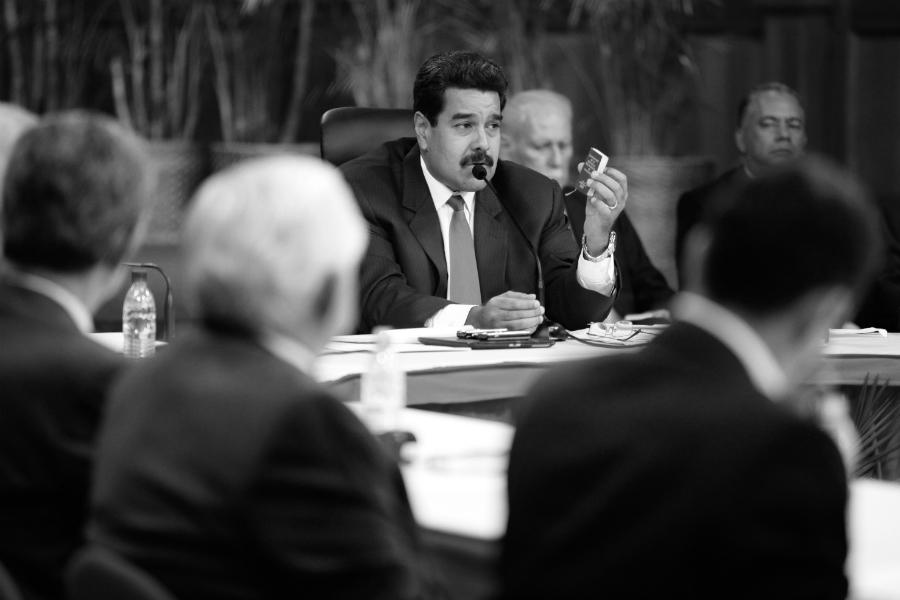 Venezuela presidente Nicolas Maduro la-tinta