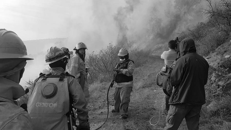 bomberos incendio punilla