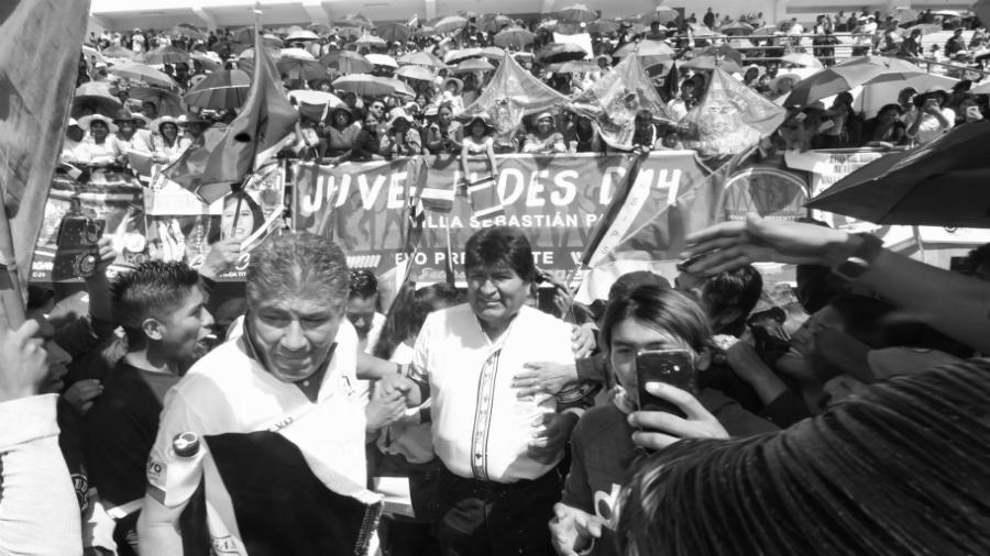 Bolivia Evo Morales campaña presidencial 2019 la-tinta