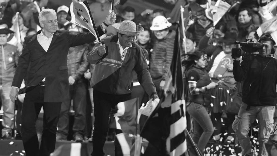 Bolivia campaña electoral Evo Morales la-tinta