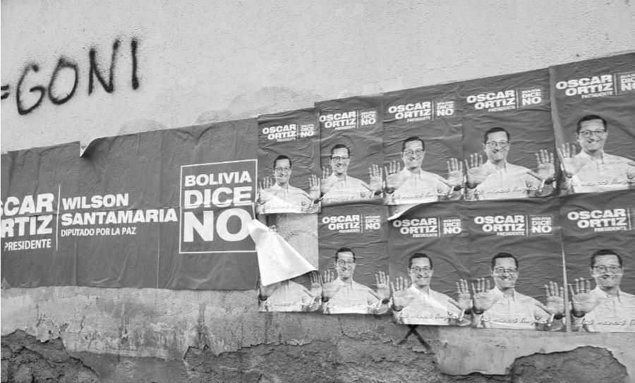 Bolivia candidato Oscar Ortiz la-tinta