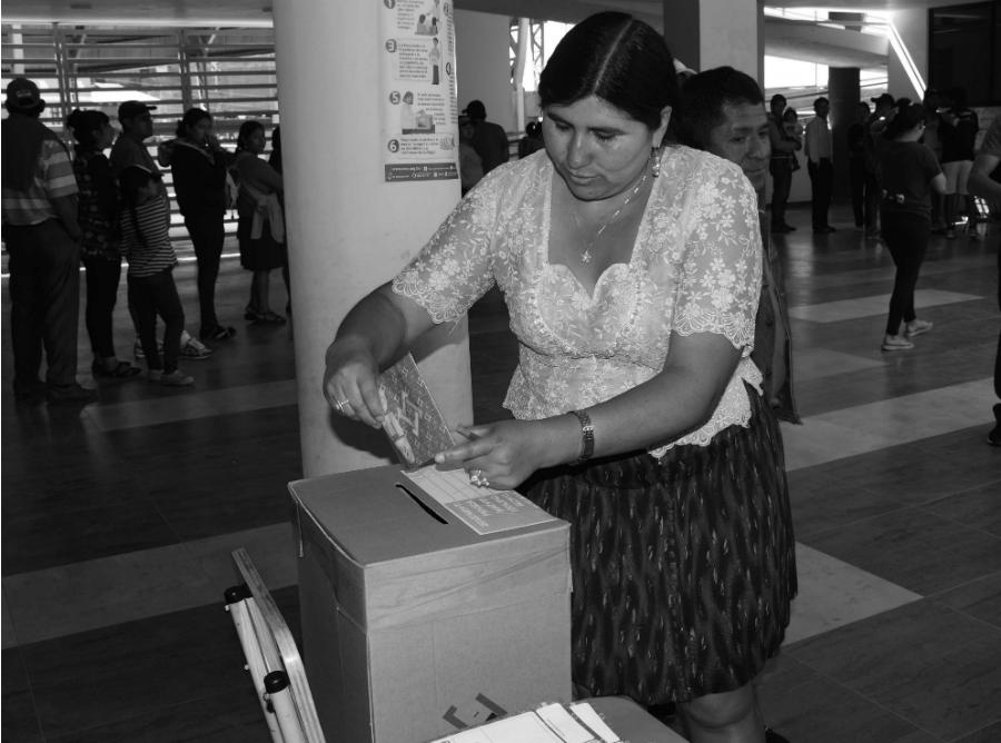 Bolivia elecciones 2019 centro de votacion la-tinta