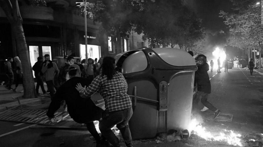 Cataluña manifestaciones y protestas la-tinta