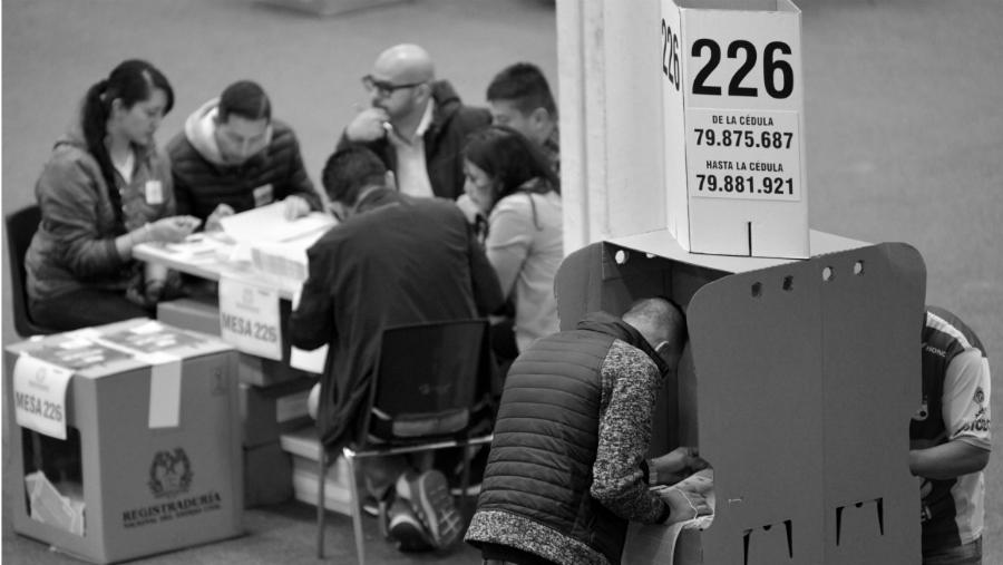 Colombia centro de votacion la-tinta