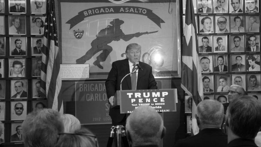 Cuba Trump con anticastristas la-tinta