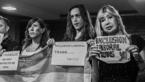 Haciendo historia: se tratará la ley para la inclusión laboral trans