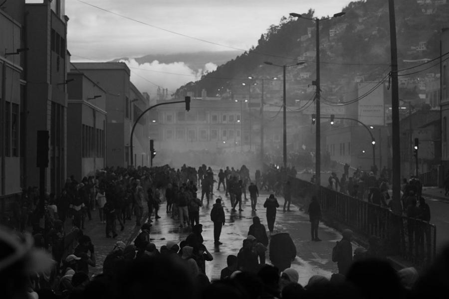 Ecuador Quito marchas la-tinta